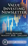 2018 08 Value Investing Newsletter by Quant Investing / Dein Aktien Newsletter / Your Stock Investing Newsletter - Issue/Ausgabe: August 2018 - English